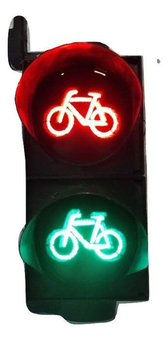 Lamp - Traffic Signals Bicycle by Siemens - 1990-2005 (1 items)