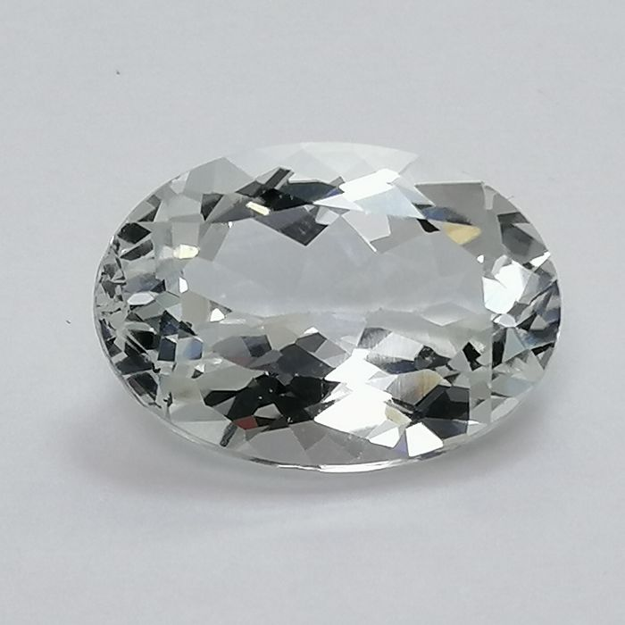 Wit Topaas - 7.25 ct