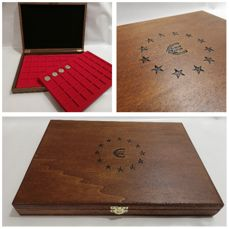 Box for EURO coins - Made in Italy  realizzato a mano