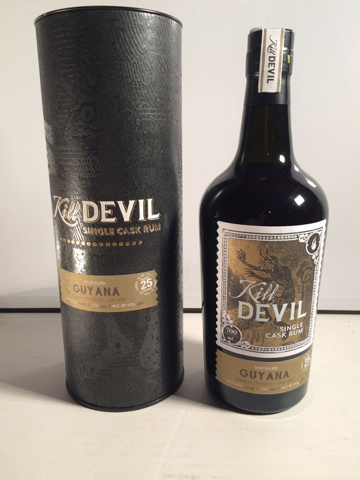 Enmore 1992 25 years old Kill Devil - Guyana - One of 345 bottles - 700ml