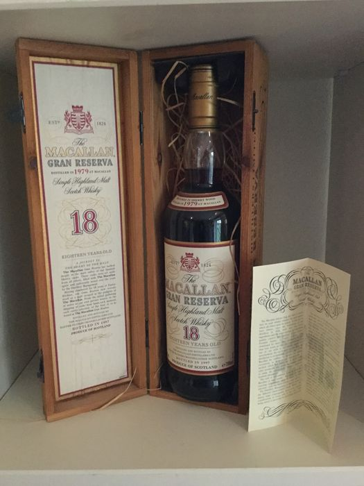 Macallan 1979 18 years old Gran Reserva - 700ml