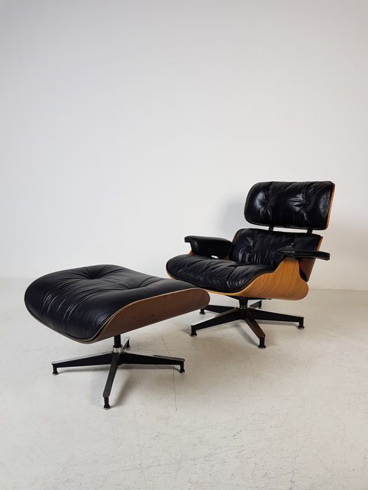 Charles Eames Lounge Stoel.Charles Eames Ray Eames Herman Miller Lounge Stoel Catawiki