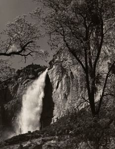 Ansel Adams (1902-1984) - Yosemite Falls, Spring, Yosemite National Park, California, 1983
