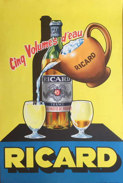 Anonymous - Ricard - 1950s