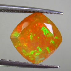 Amarillo, Marrón Ópalo facetado - 2.29 ct