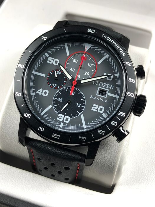 Citizen - Eco-drive Chronograph - CA0645-15H - Heren - 2011-heden