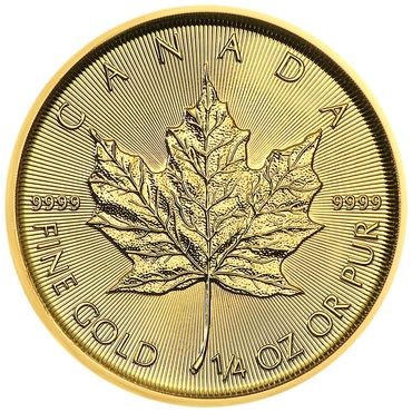 Canada - 10 Dollars 2018 Maple Leaf - 1/4 oz - Gold