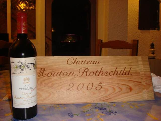 2005 Chateau Mouton Rothschild - 波雅克 1er Grand Cru Classé - 1 Bottle (0.75L)
