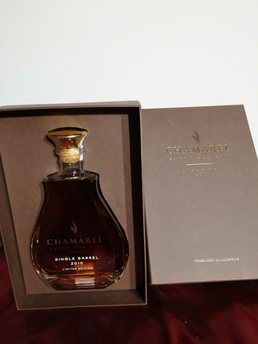 Chamarel 2010 - Extra old - Single Barrel Limited Edition - 70cl