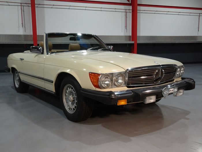 Mercedes-Benz - 380 SL - NO RESERVE - 1982