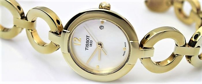 Tissot - 'NO RESERVE PRICE'  - Gold Plated  - Dames - 2011-heden
