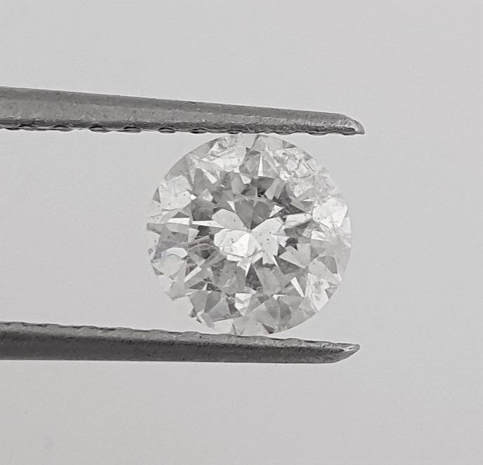 Diamant - 1.15 ct - Brillant - F - SI1