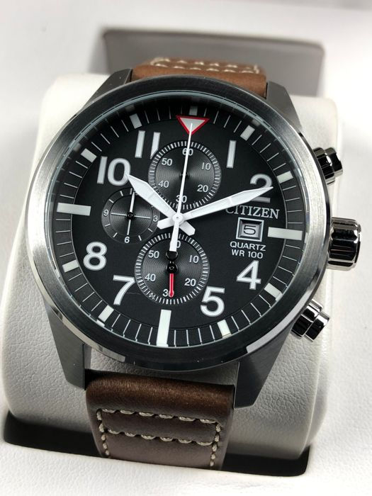 "Citizen - Chronograph  - AN3620-01H ""NO RESERVE PRICE"" - Heren - 2011-heden"