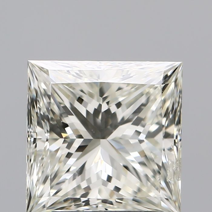 1 pcs Diamante - 1.71 ct - Princesa - K - SI2