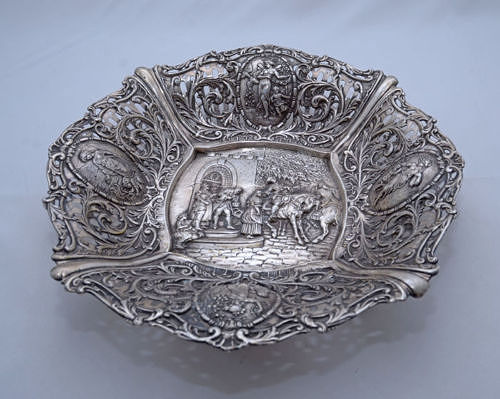 Centerpiece - .800 silver - possibly Robbe & Berking - Germany - 1900-1949