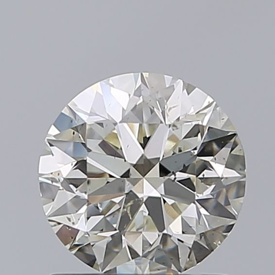 1 pcs Diamant - 0.96 ct - Briljant - L - SI2