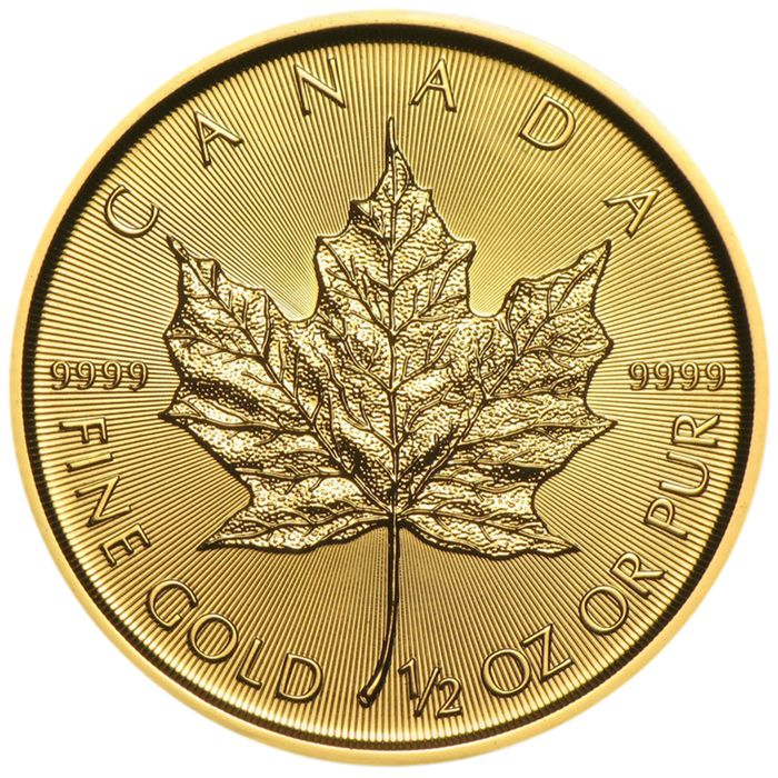 Canada - 20 Dollars 2018 Maple Leaf - 1/2 oz - Goud