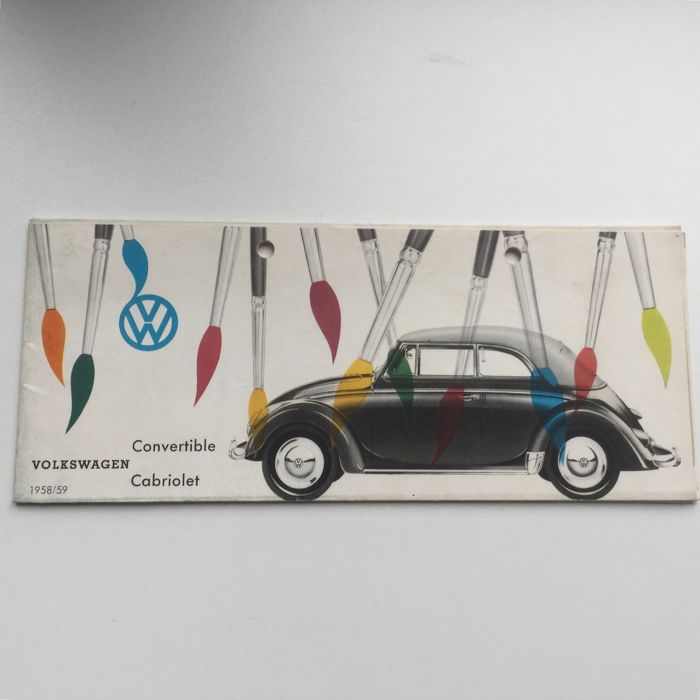 Brochures / Catalogi - BMW/Volkswagen - 1955-1988 (16 items)