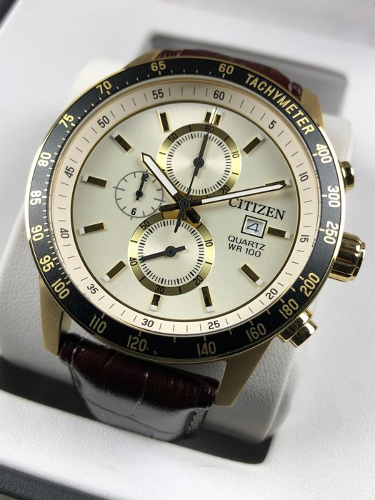 Citizen - Chronograph Gold - AN3602-02A - Men - 2011-present