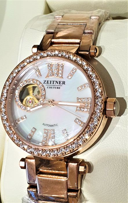 'NO RESERVE PRICE' ZEITNER - Ladys Rose Gold Tone Automatic  - Dames - 2011-heden