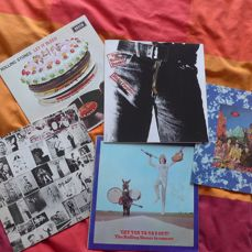 The Rolling Stones - Rolling Stones Records - Multiple titles - LP's - 1970/1979