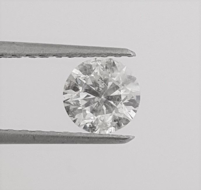 Diamante - 1.00 ct - Brillante - G - SI1