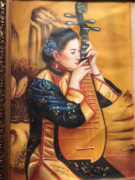 Oil painting (1) - Canvas - China - 21st century