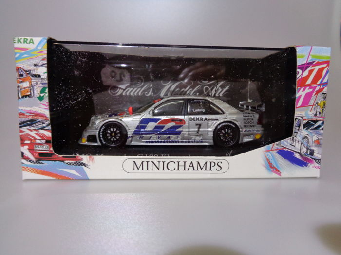 MiniChamps - 1:43 - 2x Mercedes AMG C 180 DTM, Team AMG K.Ludwig en Team ZakspeedK. Thiim for sale  London
