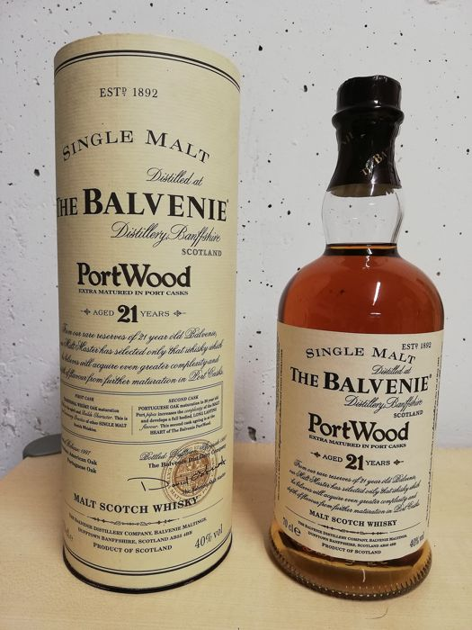 Balvenie 21 years old Port Wood Limited Release - b. 1997 - 70cl