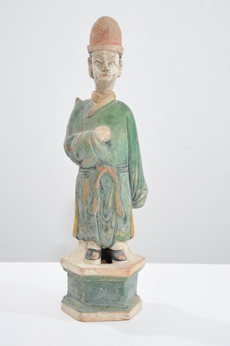 Figure - Terracotta - China - Late 20th century