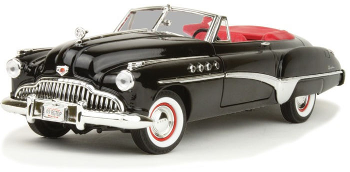 Motormax - 1:18 - Buick Roadmaster 1949 - Premium Die-Cast Collection