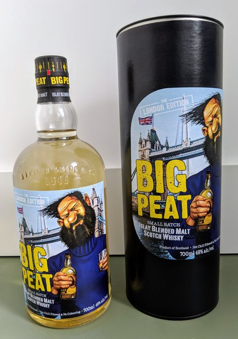 Big Peat The London Edition - 2017 - UK Limited Edition - Douglas Laing - 700ml