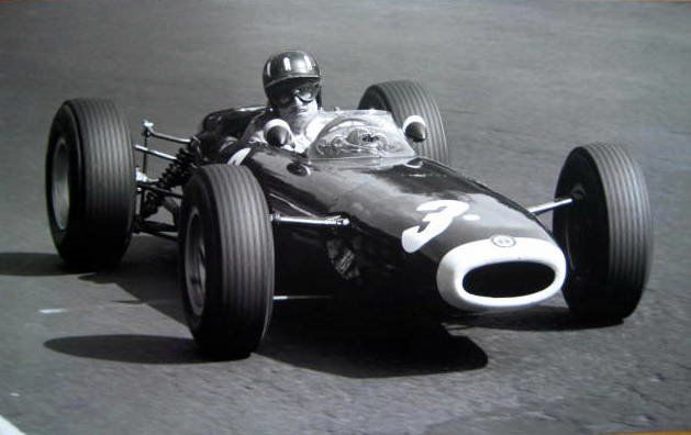 Seltenes Rennen Drucken - BRM P261 #3/Graham Hill - Grand Prix Germany - 1964
