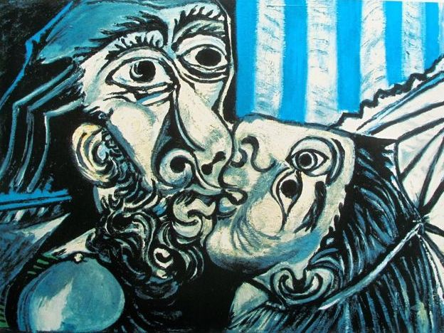 Pablo Picasso ( after ) - The Kiss