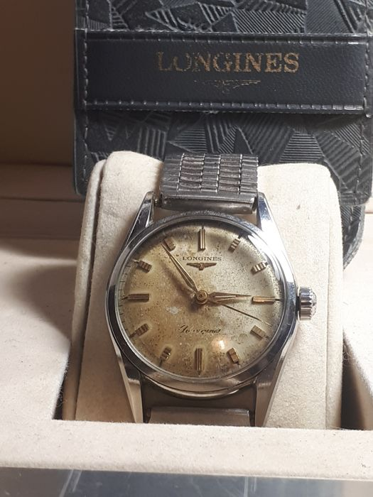 Longines - Silvergines '50th years  - Heren - 1950-1959