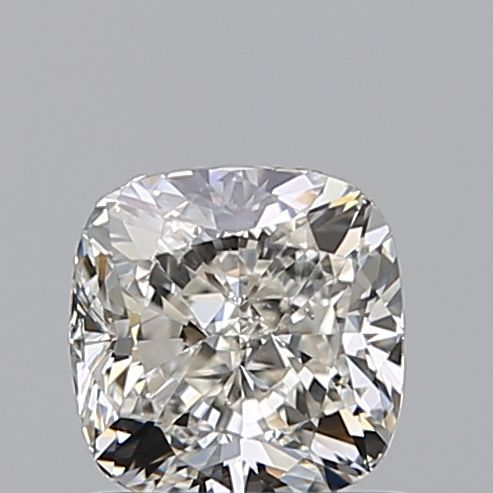 1 pcs Diamante - 0.90 ct - Cojín - H - VS2