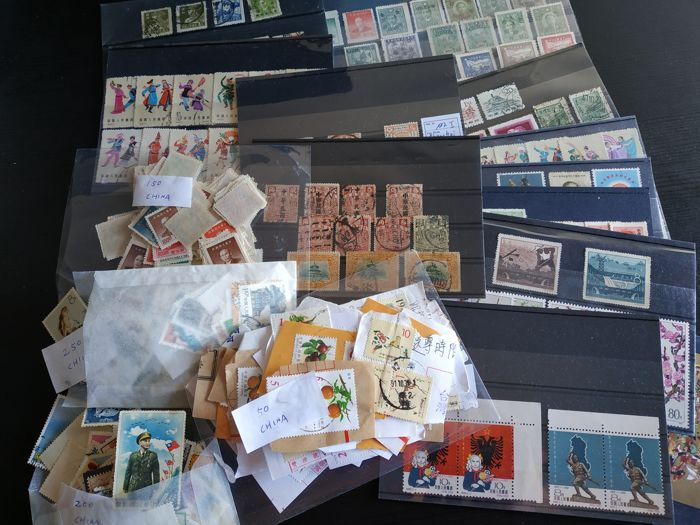 China - Oost-China 1900/1999 - Batch of Stamps from old to new