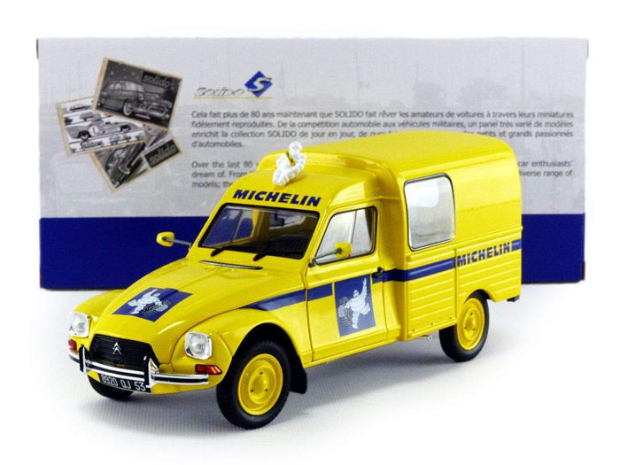 Solido - 1:18 - Citroën Acadiane Michelin 1984 - Quantities produced: 2.000 pcs.