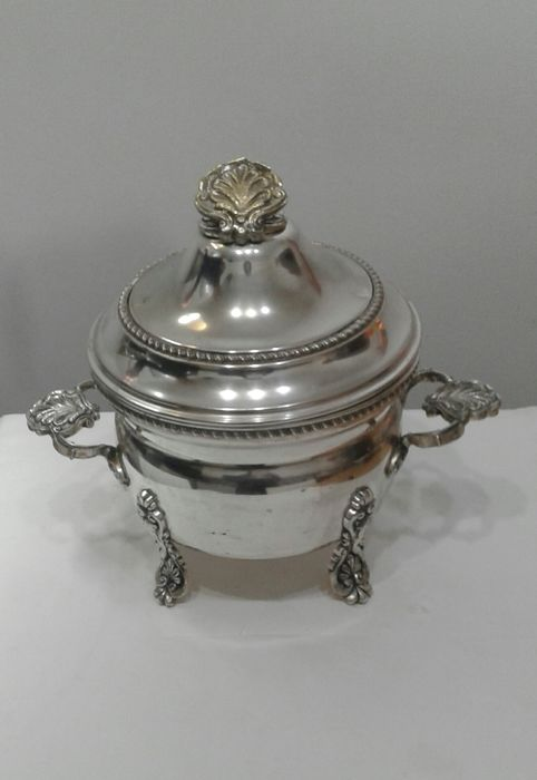 Tureen - Silverplate - Portugal - Early 20th century