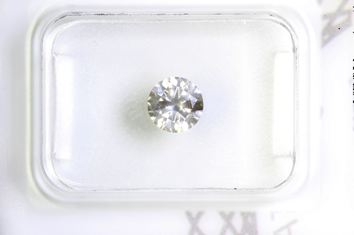 Diamante - 0.49 ct - Brillante - I1
