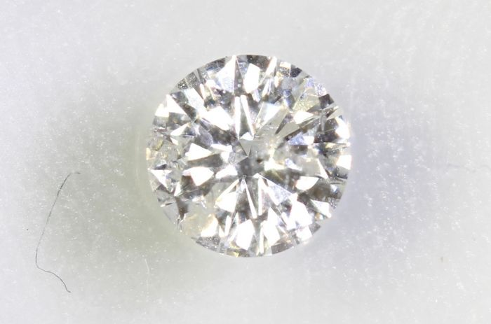 Diamant - 0.32 ct - Briljant - F - P1
