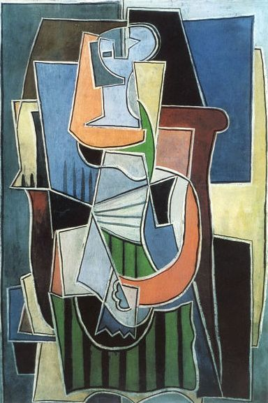 Pablo Picasso ( after ) - Abstract