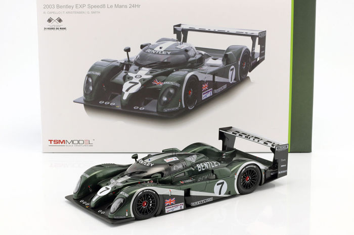 TrueScale Miniatures - 1:18 - Bentley EXP Speed 8 #7 1st Place Le Mans 24Hr 2003 - Limited Edition of 1.000 pcs.