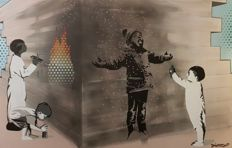 "Dverso - ""Bansky"" you little Rascal"