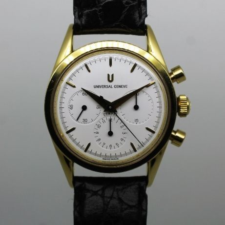 "Universal Genève - Compax Chronograph - ""NO RESERVE PRICE"" - 184.440 - Heren - 1990-1999"