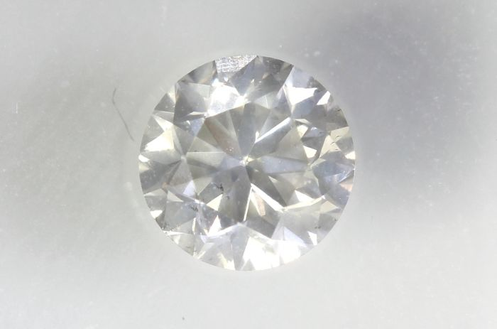 Diamant - 0.51 ct - Briljant - P1