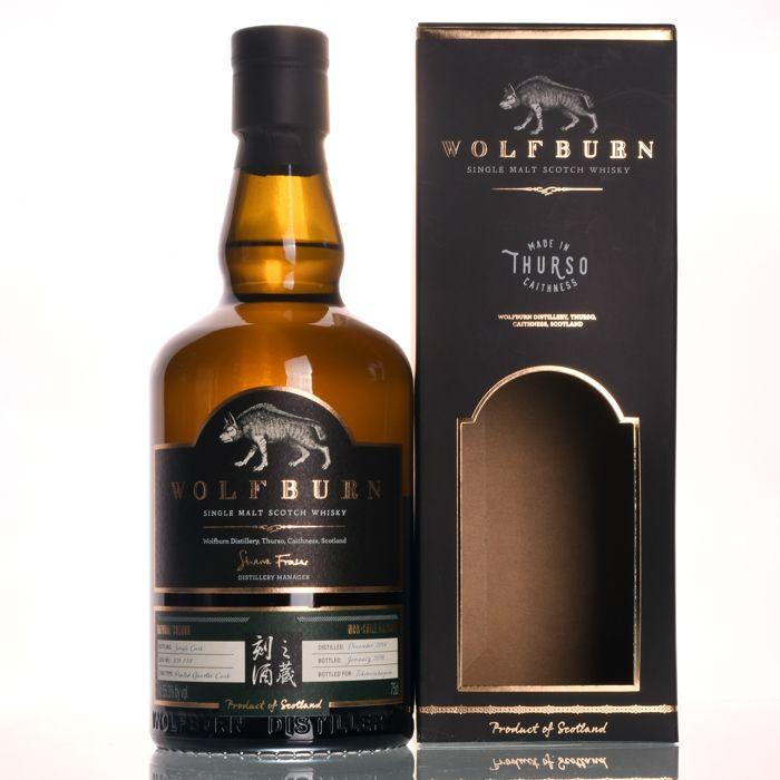 Wolfburn Single Cask#835114 Exclusively Released for Tokinosakagura 168 bottles Only! - 750ml