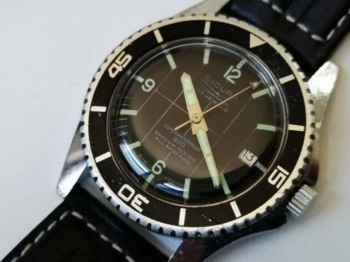 Sicura - Diver 400 watch - Big size  - Heren - 1970-1979