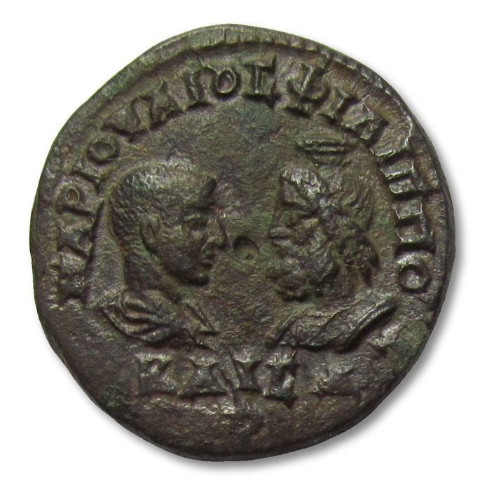 Roman Empire - Thrace, Mesembria. AE26 Pentassarion,  Philip II / Philippus II as Caesar, 244-247 A.D. - great 26mm quality coin