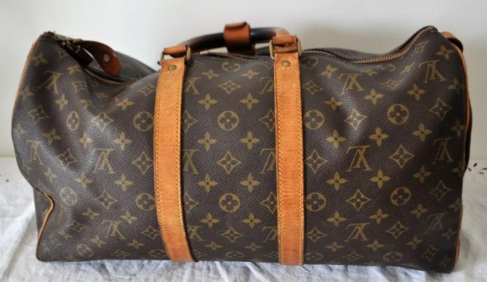 37099657bd9 Louis Vuitton - keepall Weekend bag Bags Exclusive Bags for sale More  pictures. Catawiki